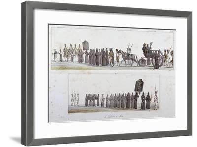 Sentenced to Death-Antoine Jean-Baptiste Thomas-Framed Giclee Print