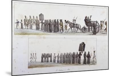 Sentenced to Death-Antoine Jean-Baptiste Thomas-Mounted Giclee Print