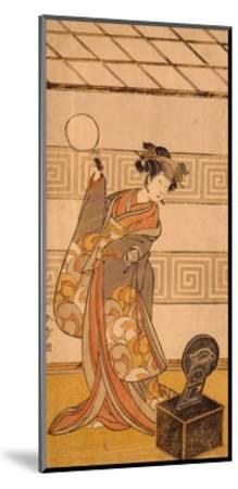 Actor Arashi Sangoro II in Female Part-Katsukawa Shunsho-Mounted Giclee Print