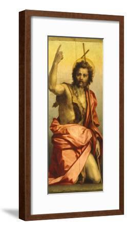 Painting of St John the Baptist-Andrea del Sarto-Framed Giclee Print
