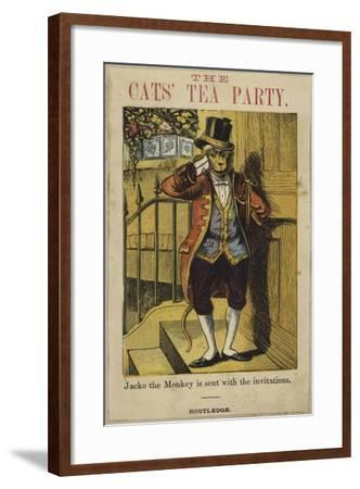 Jacko the Monkey Is Sent Out with the Invitations--Framed Giclee Print