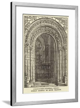 Christchurch Cathedral, Dublin, Norman Doorway of South Transept--Framed Giclee Print