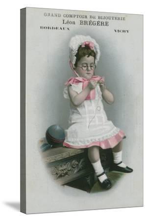 Grand Comptoir De Bijouterie, Leon Bregere, Bordeaux, Vichy--Stretched Canvas Print