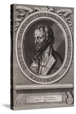 Philipp Melanchthon, German Theologian of the Protestant Reformation--Stretched Canvas Print