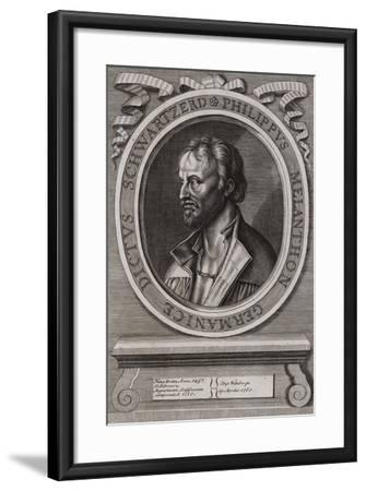 Philipp Melanchthon, German Theologian of the Protestant Reformation--Framed Giclee Print