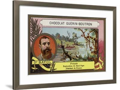 Jean-Marie Bayol, French Doctor, Explorer and Politician--Framed Giclee Print
