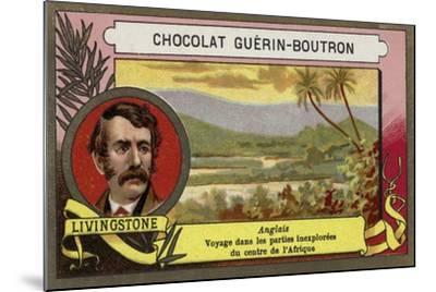 David Livingstone, Scottish Missionary and Explorer--Mounted Giclee Print