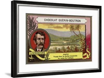 David Livingstone, Scottish Missionary and Explorer--Framed Giclee Print