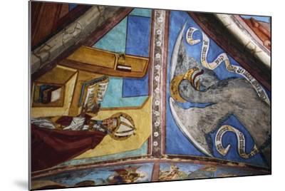 Frescoes in St George Chapel, Basilica of St Romedius--Mounted Giclee Print