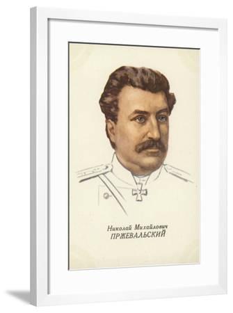 Nikolai Przhevalsky, Russian Geographer and Explorer--Framed Giclee Print