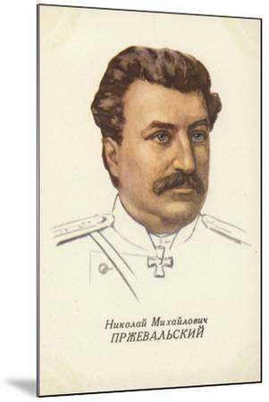 Nikolai Przhevalsky, Russian Geographer and Explorer--Mounted Giclee Print
