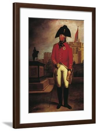 Portrait of Prince George William of Great Britain--Framed Giclee Print