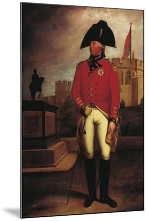 Portrait of Prince George William of Great Britain--Mounted Giclee Print