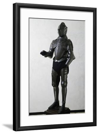 Engraved and Gilded Armor--Framed Giclee Print