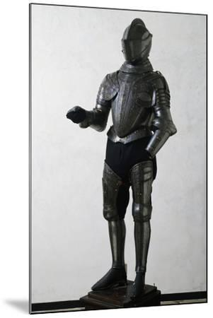 Engraved and Gilded Armor--Mounted Giclee Print