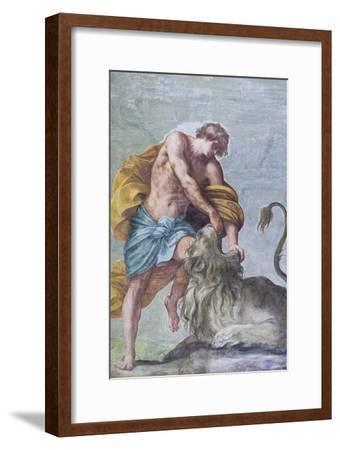 Ceiling Frescoes of the Room of the Aldobrandini Wedding--Framed Giclee Print