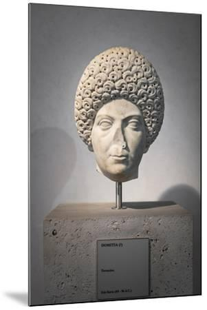 Portrait of Domitia, About 96 Ad, National Museum of Rome--Mounted Giclee Print
