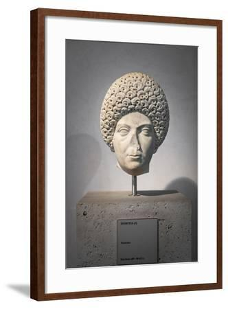 Portrait of Domitia, About 96 Ad, National Museum of Rome--Framed Giclee Print