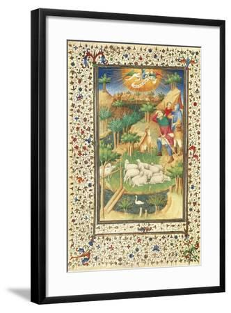 The Announcement to the Shepherds--Framed Giclee Print
