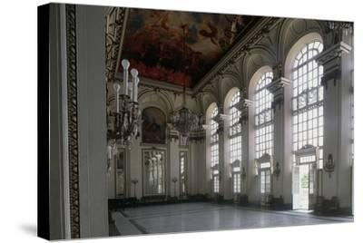 Hall of Mirrors, Museum of Revolution, Former Presidential Palace--Stretched Canvas Print