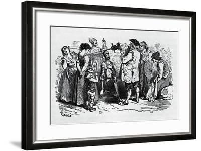 The Induction of Don Quixote--Framed Giclee Print