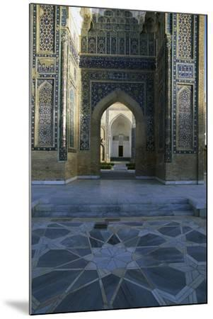 Entrance Detail from Gur-E Amir Mausoleum of Tamerlane--Mounted Giclee Print