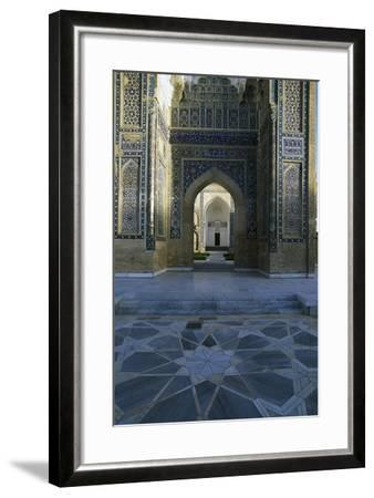 Entrance Detail from Gur-E Amir Mausoleum of Tamerlane--Framed Giclee Print