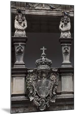 Architectural Detail from an Historic Building in Republic Square--Mounted Giclee Print