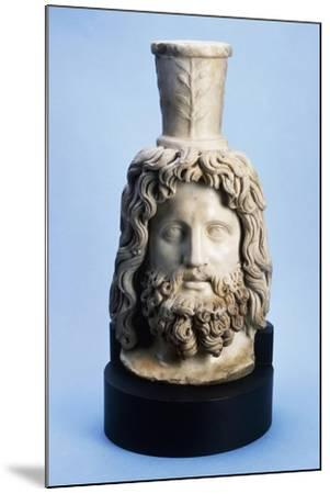 Marble Head of Egyptian God Serapis, from Mithras Walbrook to Londinium--Mounted Giclee Print