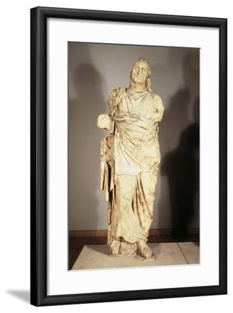 Colossal Statue from the Mausoleum at Halicarnassus--Framed Giclee Print