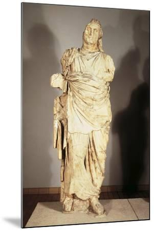 Colossal Statue from the Mausoleum at Halicarnassus--Mounted Giclee Print