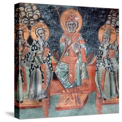 Fourth Ecumenical Council, Held in 451 Ad, at Chalcedon-Symeon Axenti-Stretched Canvas Print