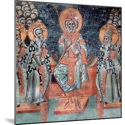Fourth Ecumenical Council, Held in 451 Ad, at Chalcedon-Symeon Axenti-Mounted Giclee Print