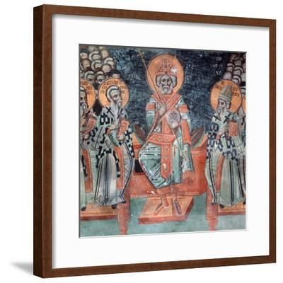 Fourth Ecumenical Council, Held in 451 Ad, at Chalcedon-Symeon Axenti-Framed Giclee Print