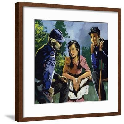 Belle Boyd Was a Spy During the American Civil War--Framed Giclee Print