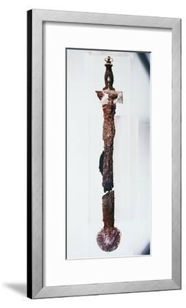 Sword with Gold Decorations, from Royal Tomb of Philip II, Vergina--Framed Giclee Print