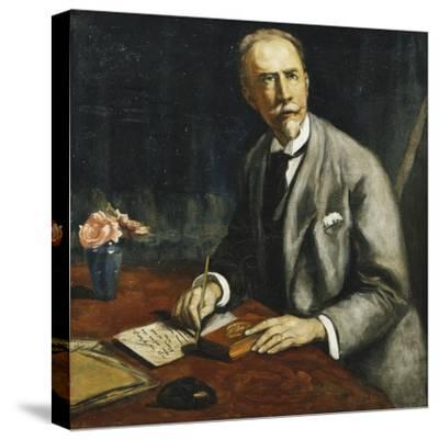 Portrait of Emile Bauman; Portrait D'Emile Bauman, 1927-Emile Bernard-Stretched Canvas Print