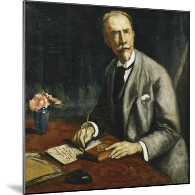 Portrait of Emile Bauman; Portrait D'Emile Bauman, 1927-Emile Bernard-Mounted Giclee Print