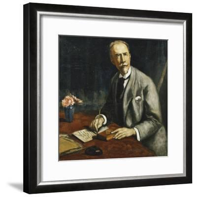 Portrait of Emile Bauman; Portrait D'Emile Bauman, 1927-Emile Bernard-Framed Giclee Print