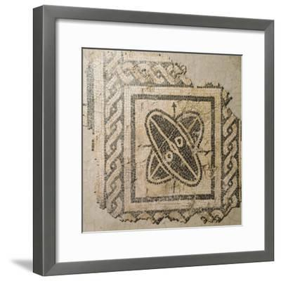 Mosaic Floor from Palace of King Barbaro in Porto Torres--Framed Giclee Print
