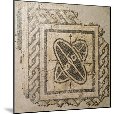 Mosaic Floor from Palace of King Barbaro in Porto Torres--Mounted Giclee Print