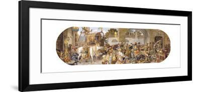 A Florentine Festival: the Arrival of the Provisions-Ricciardo Meacci-Framed Giclee Print