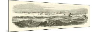 Landing of Banks's Expedition on Brazos Santiago, November 1863--Mounted Giclee Print