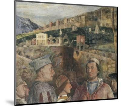 Detail of Fresco in Bridal Chamber-Andrea Mantegna-Mounted Giclee Print