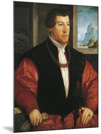 Portrait of Christoph Baumgartner-Christoph Amberger-Mounted Giclee Print