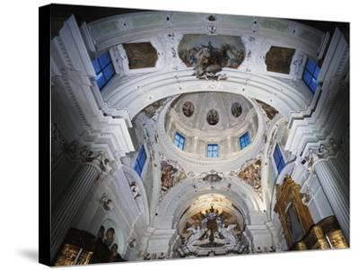 Dome with Frescoes-Giacomo Ceruti-Stretched Canvas Print