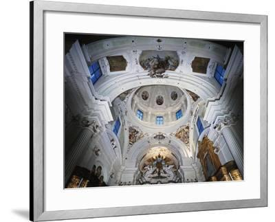 Dome with Frescoes-Giacomo Ceruti-Framed Giclee Print