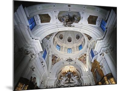Dome with Frescoes-Giacomo Ceruti-Mounted Giclee Print