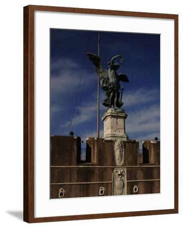 Archangel Michael, 1753-Peter Anton Von Verschaffelt-Framed Giclee Print