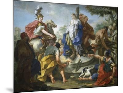 Olynthus and Sophronia-Giovanno Battista Pittoni-Mounted Giclee Print